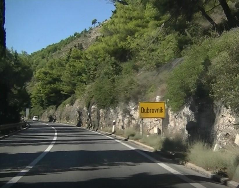 dubrovnik entree - croatie