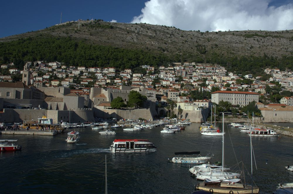 dubrovnik vieille ville port-croatie (1)