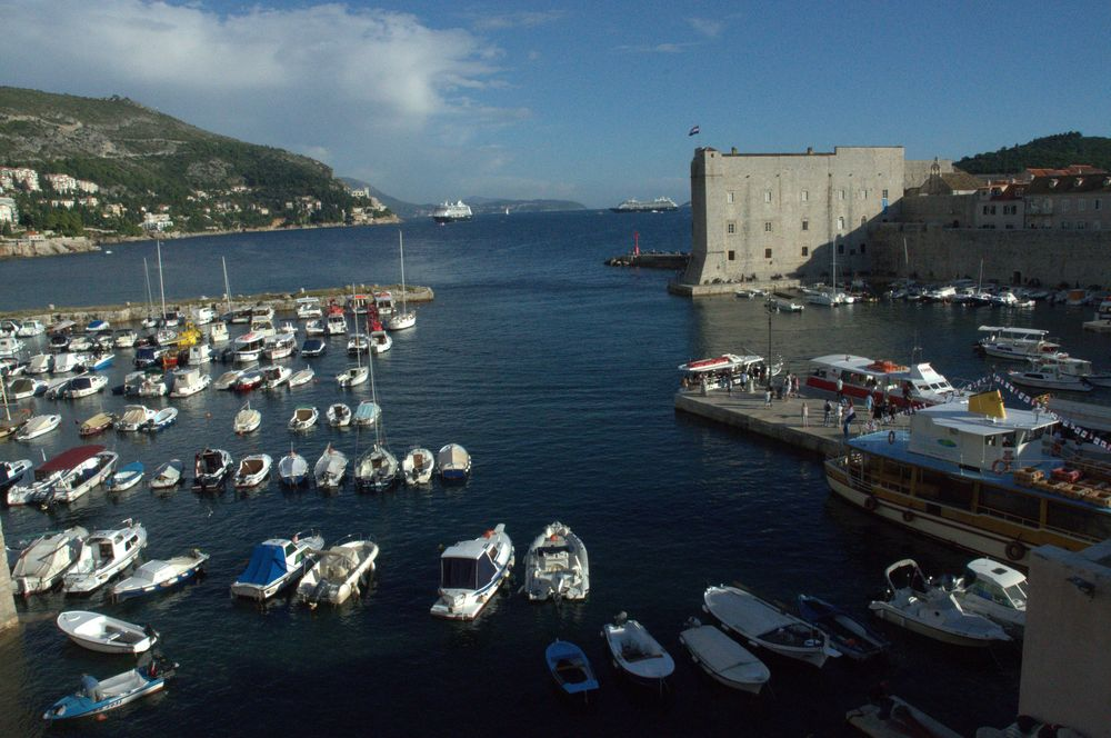 dubrovnik vieille ville port-croatie (2)