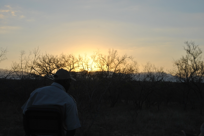 Karongwe coucher soleil 4x4