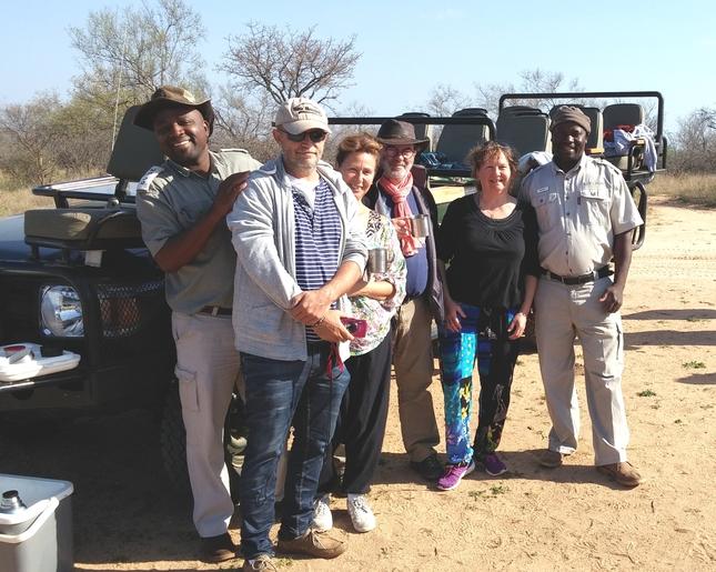 Karongwe safari equipe
