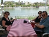 Seville déjeuner bord du fleuve