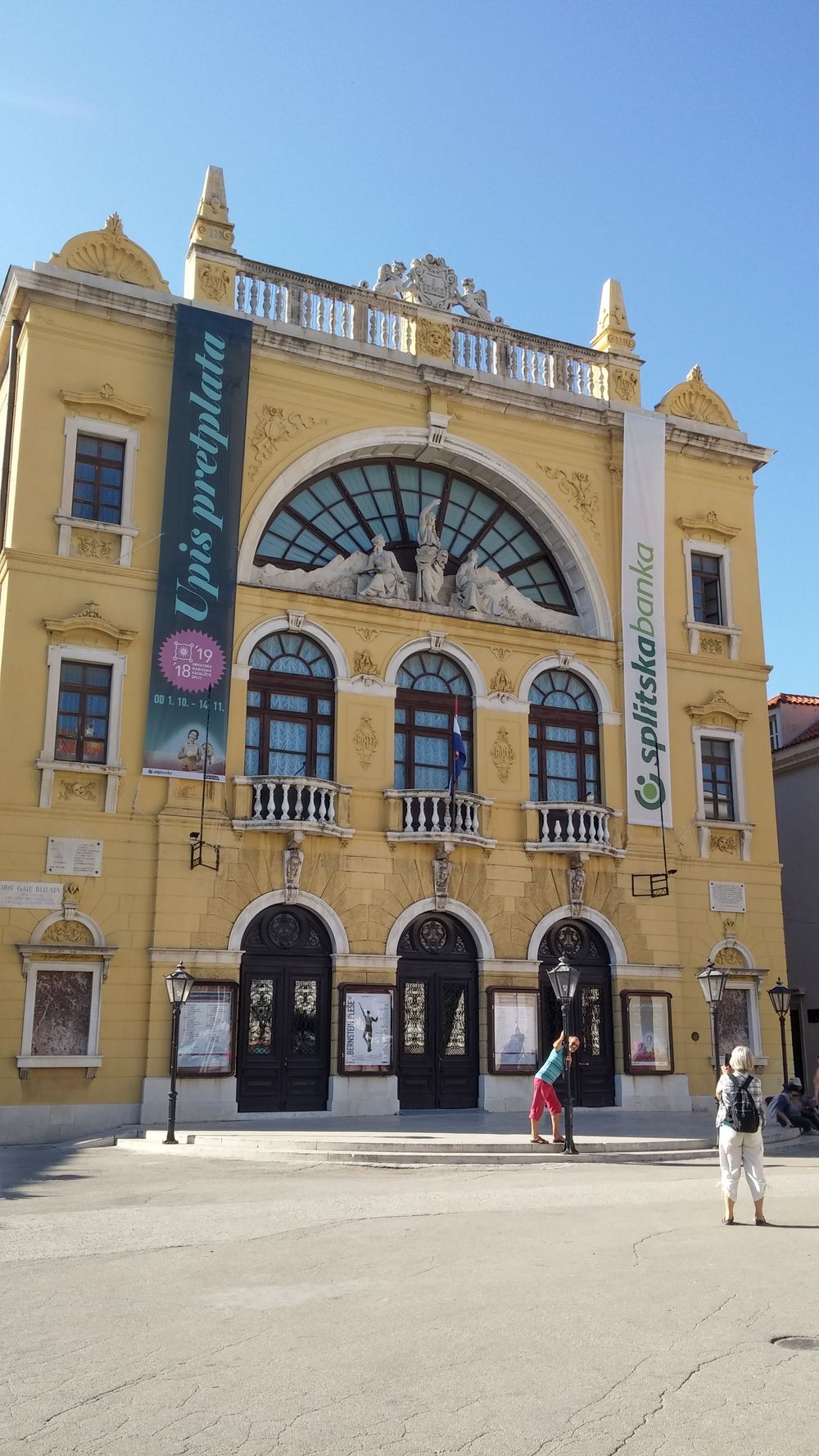 Split theatre Croatie