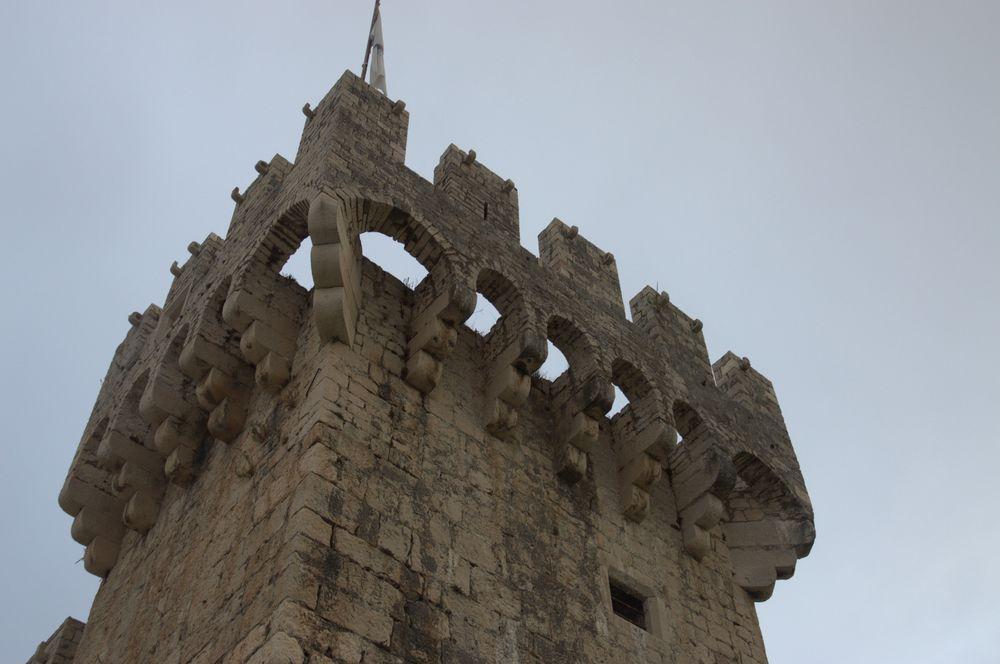 trogir  tour forteresse