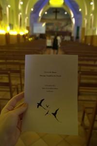 mariage eglise livret