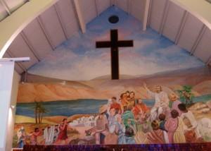 intérieur église St gilles