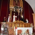 Guadix interieur chapelle grotte de la Vierge de Grâce