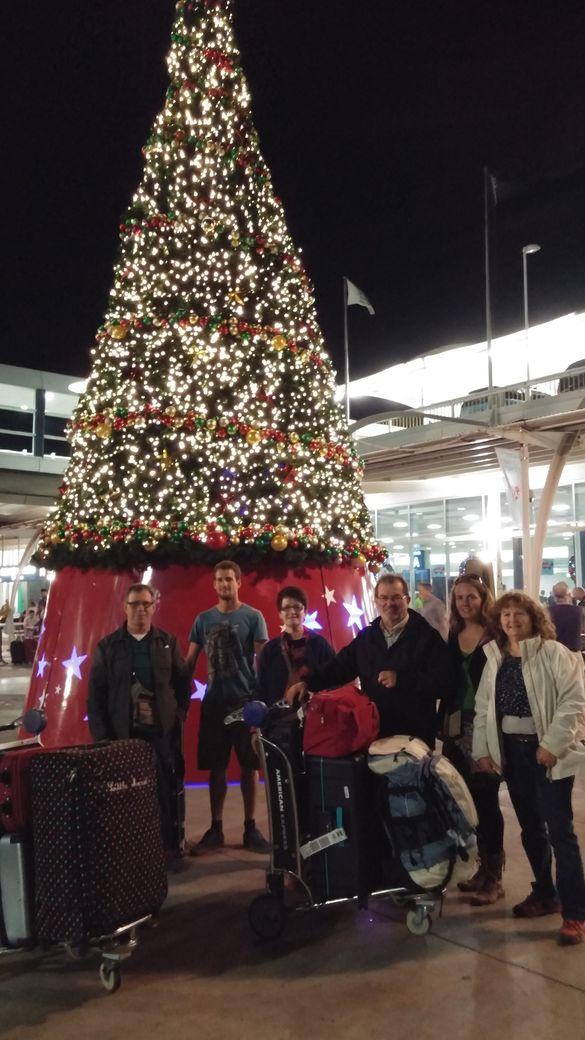 arrivée aeroport sydney