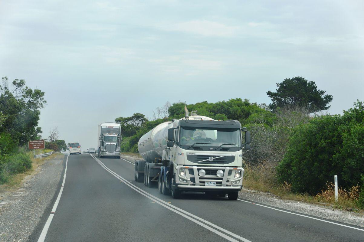 entre Victoria et South Australia