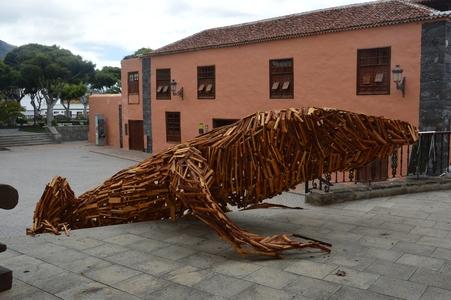 Garachico lezard bois