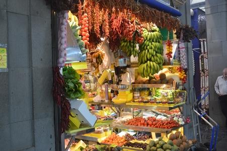 Las Palmas de Gran Canaria marché fruit