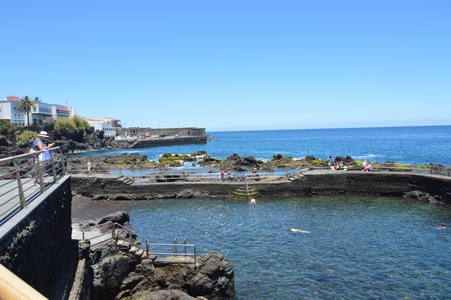 Puerto de la cruz - le port