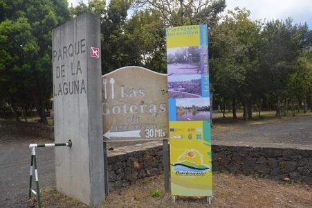 parque de la laguna entrée