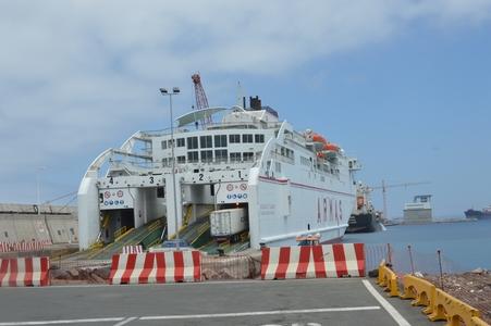 Ferry entre Gran Canari et Tenerife départ
