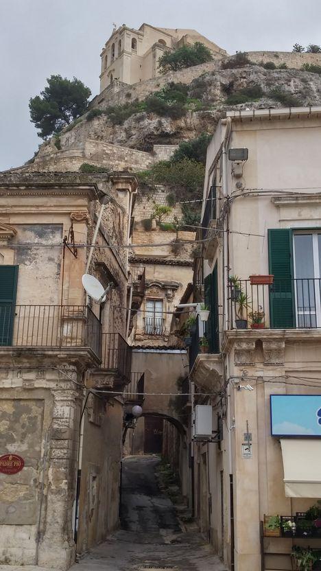 scicli-vue sur San Matteo