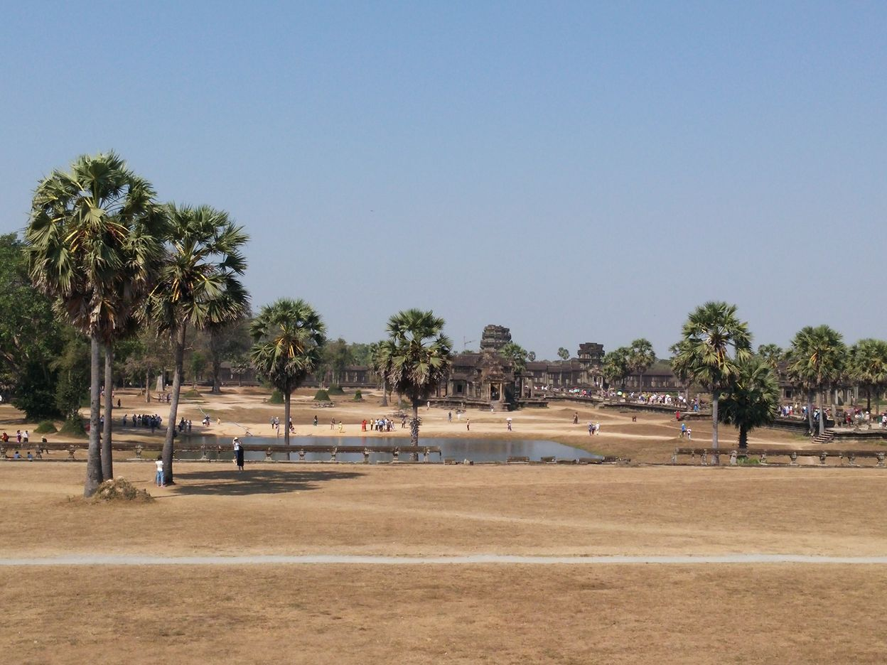 wat angkor site parc