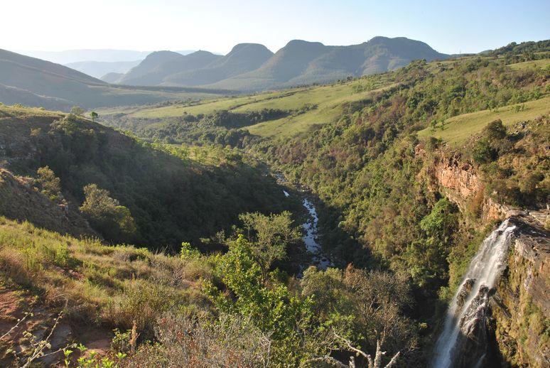 Blyde river- lisbon falls vue