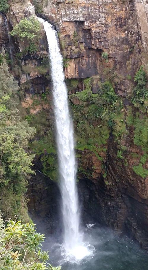 Blyde river- mac mac falls fond