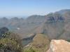 Blyde river- les 3 huttes vue lac