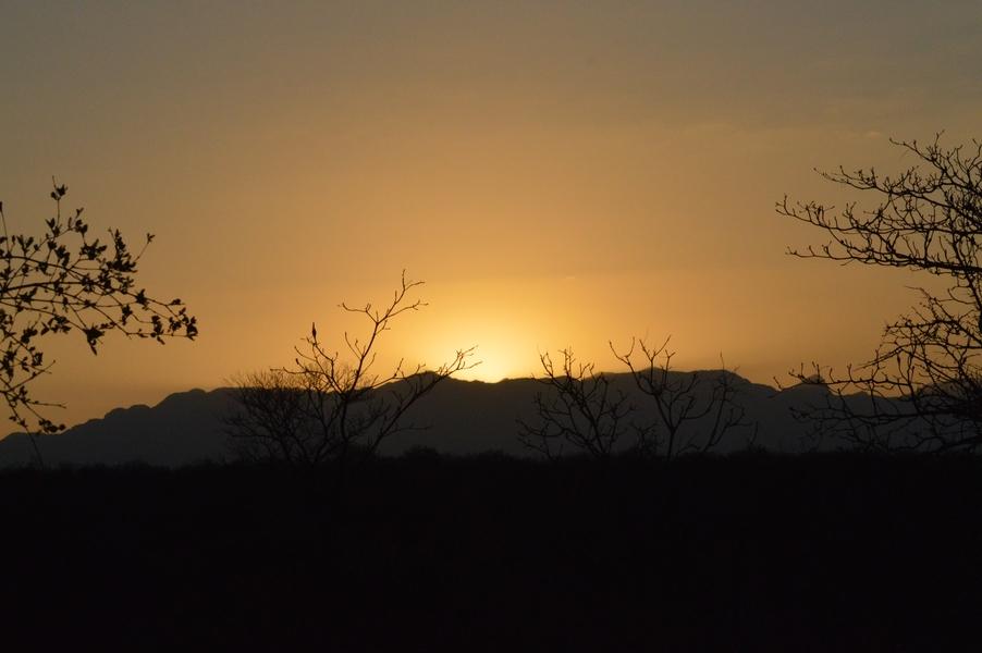 Karongwe coucher soleil
