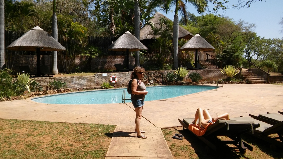 Karongwe lodge piscine