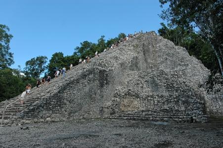 coba Pyramide Nohoch Mul
