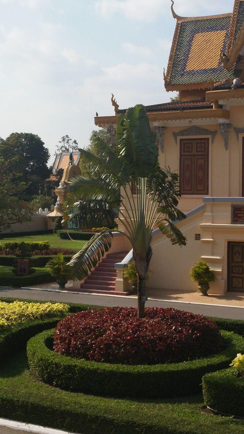 phnom penh palais royal voyageur et hor samran phirun