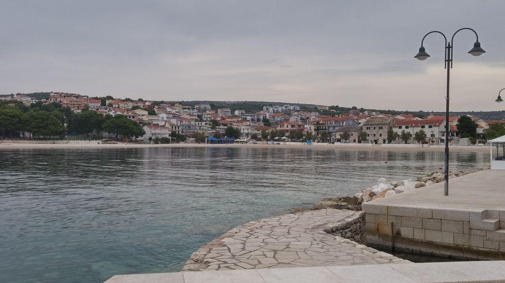 primosten vue sur ville croatie