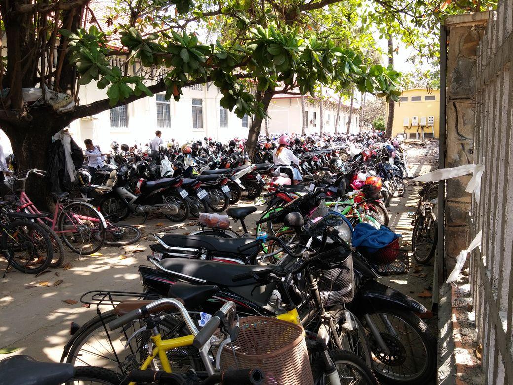 phnom penh  cour ecole