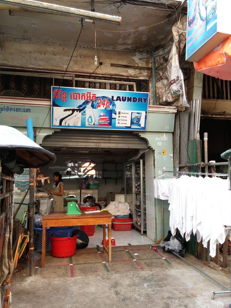 phnom penh  laundry