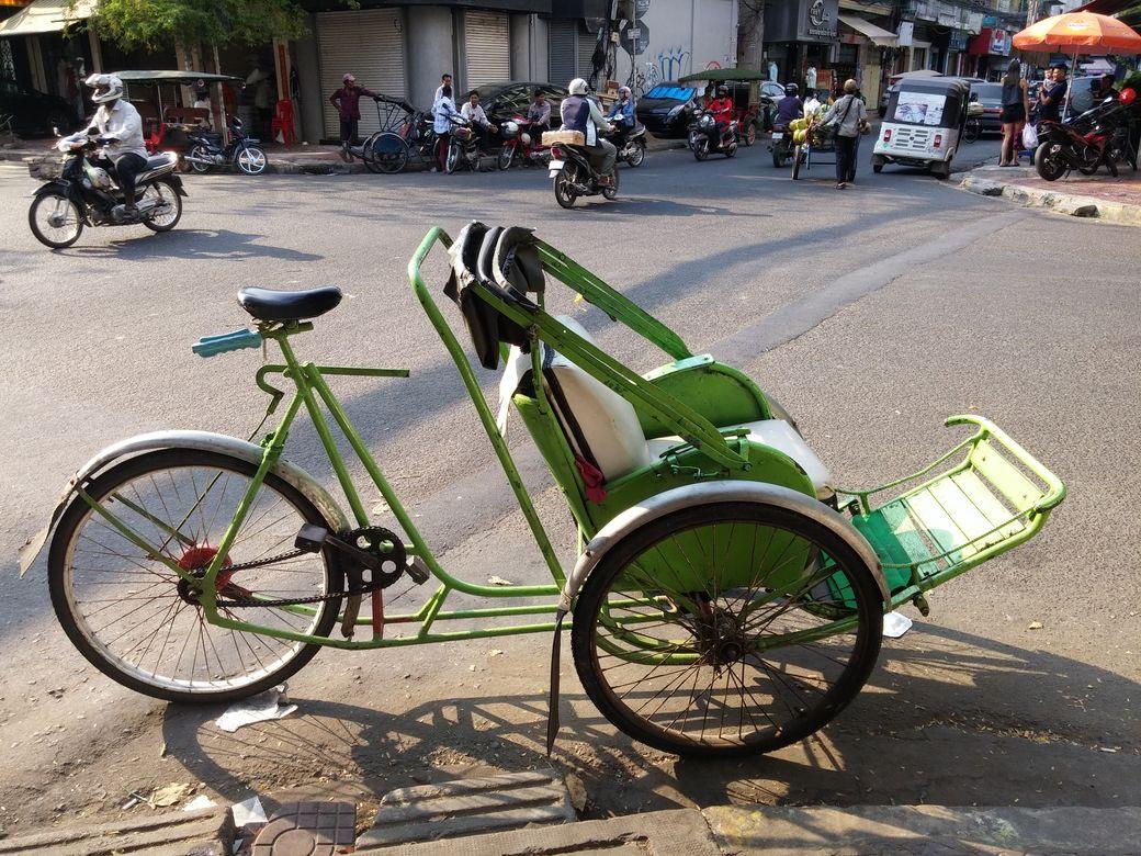 phnom penh pousse pousse