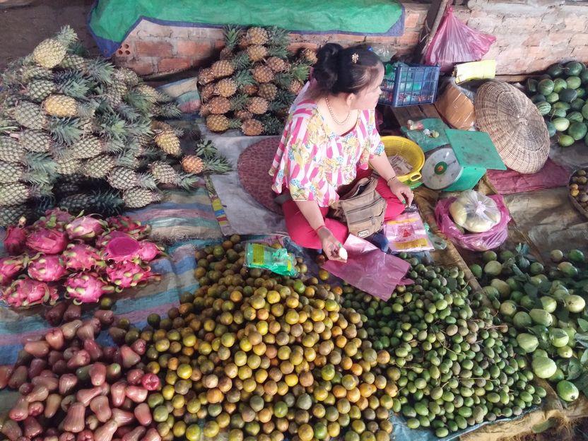 siem reap marche fruits