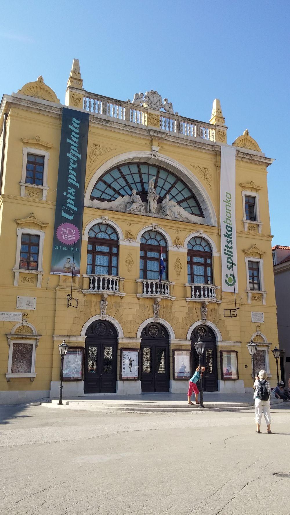 Split theatre Croatie