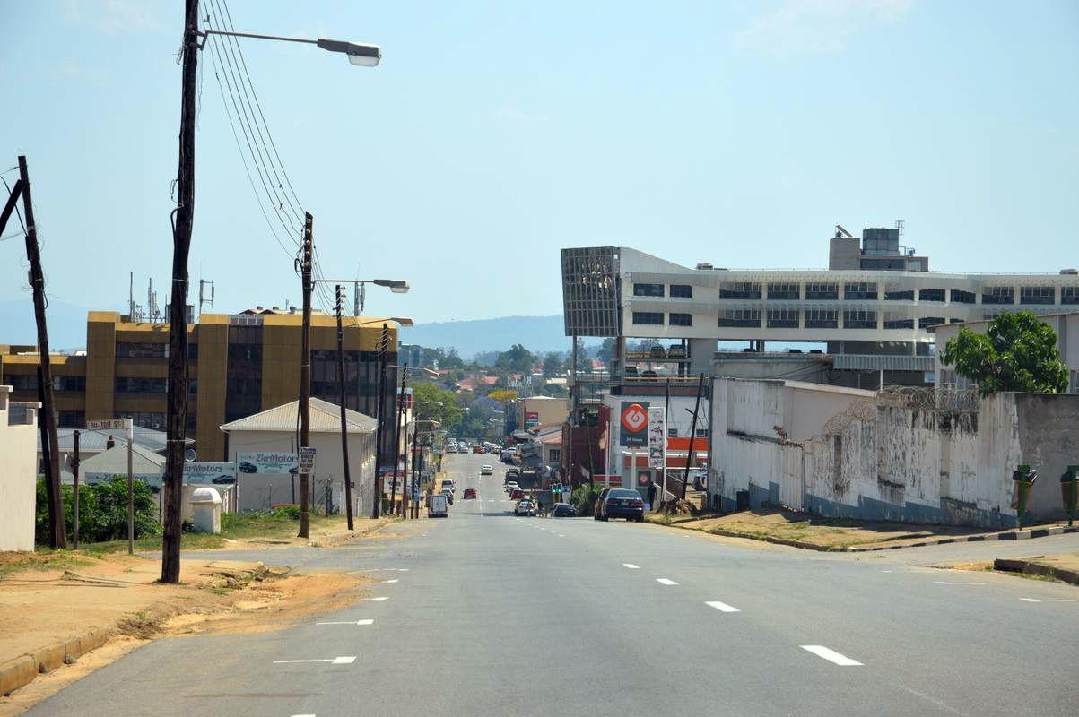 Ville manzini au swaziland