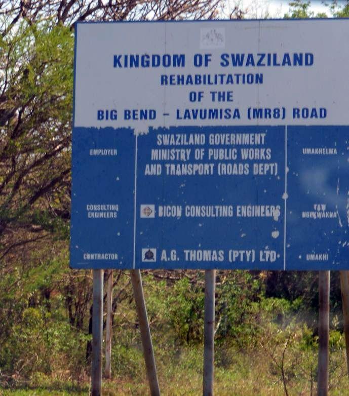 swaziland travaux