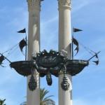 Seville caravelle Colomb detail