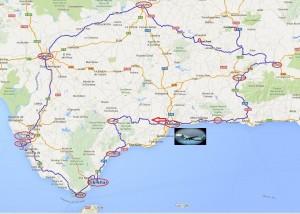circuit depuis Malaga mai 2015 - Andalousie