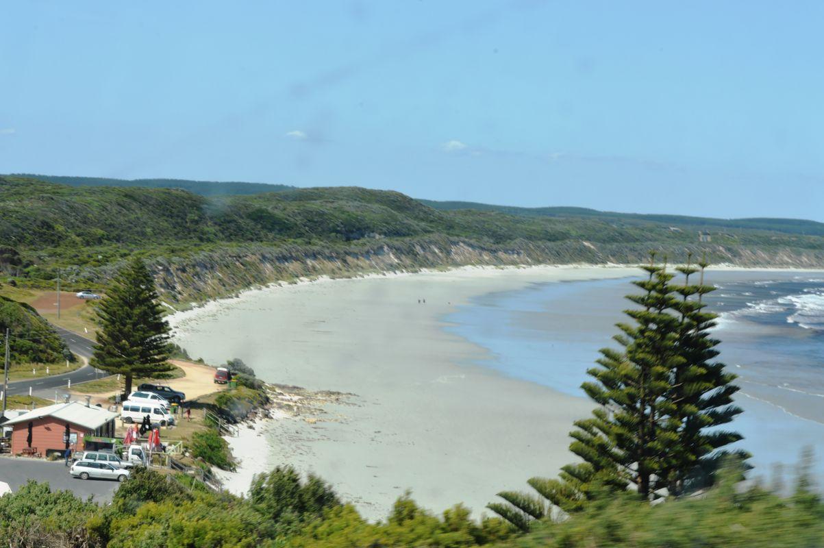 Cape bridgwater grande plage