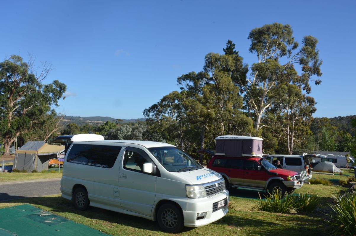 Hahndorf camping big 4 emplacement