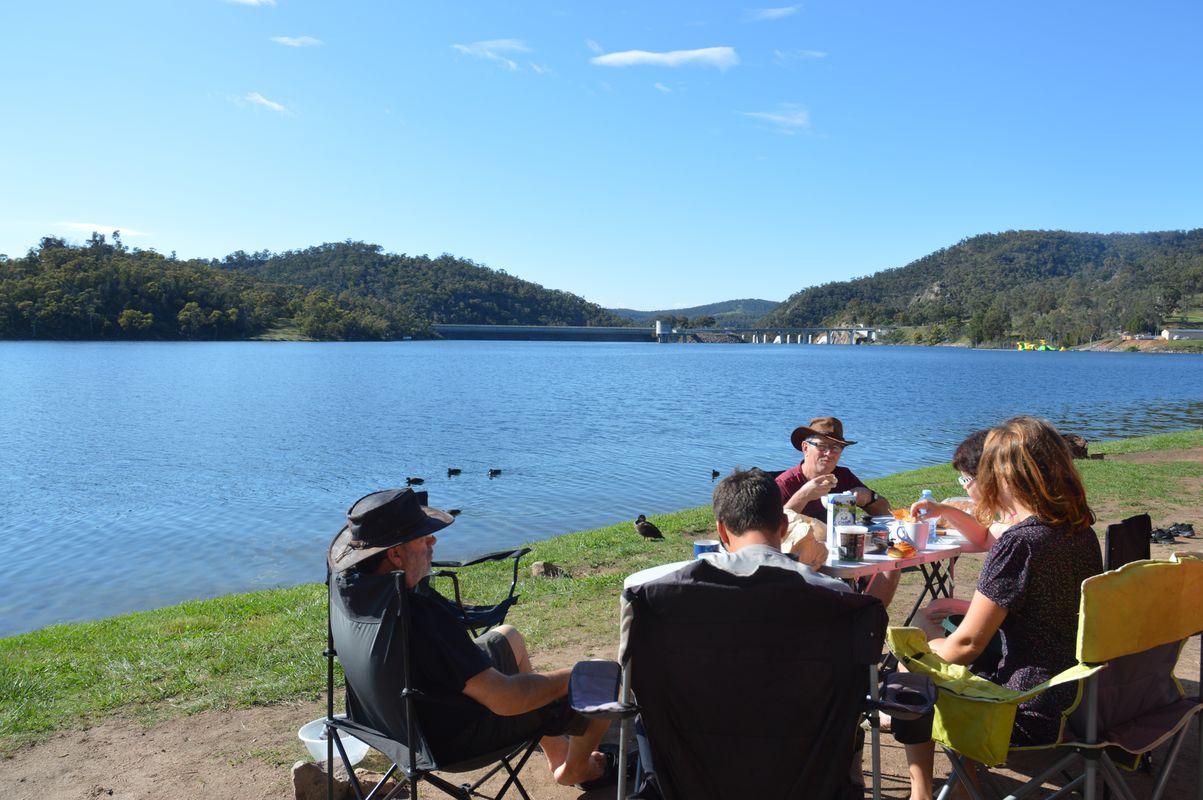 Lake lyell petit dejeuner