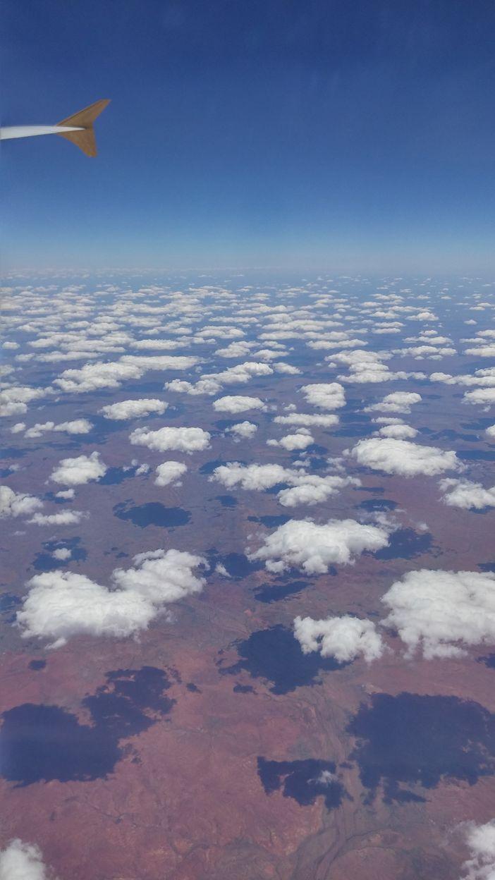 nuage au dessus australie
