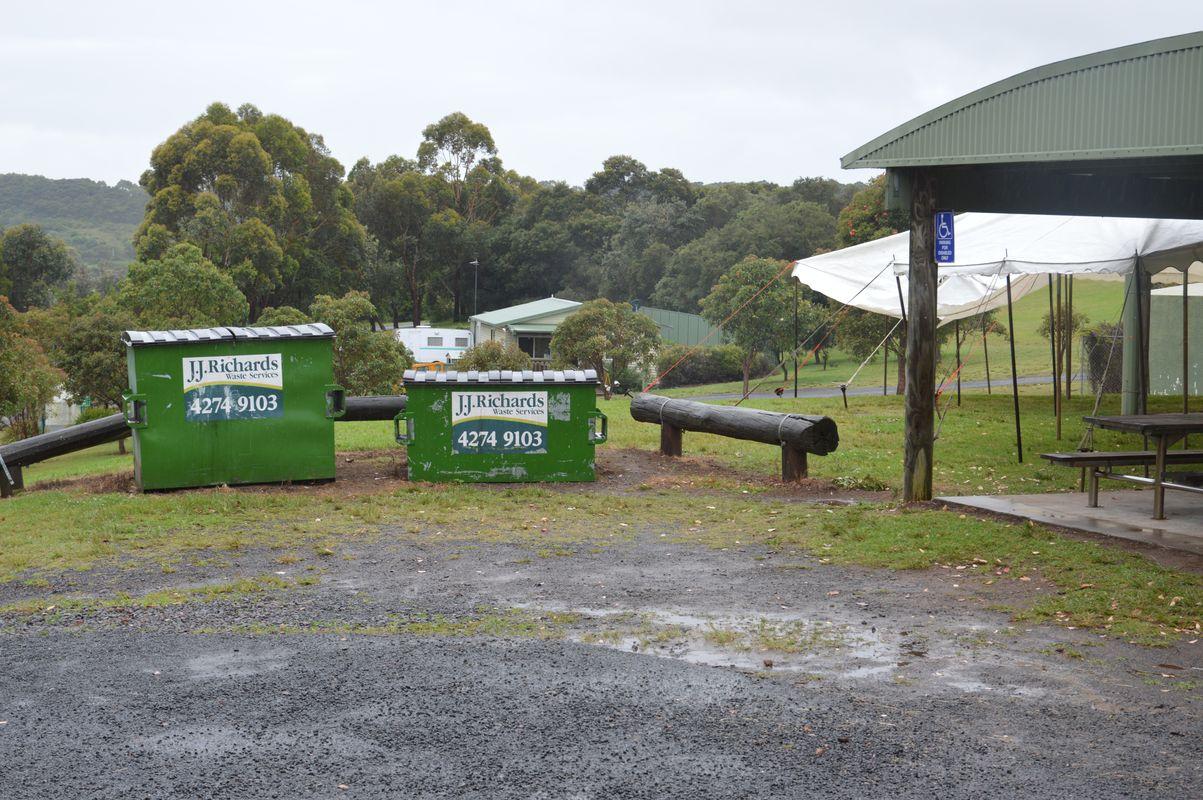 shellharbour Killalea sous la pluie