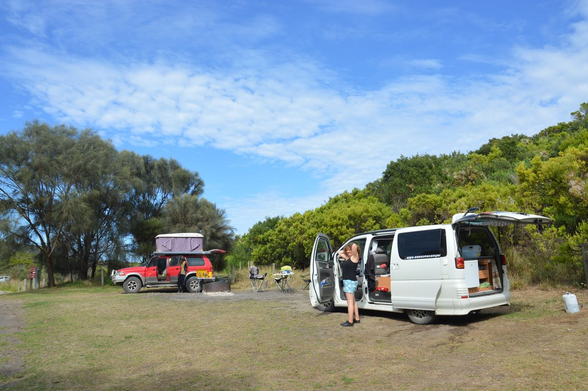 Aire river camping great otway national park