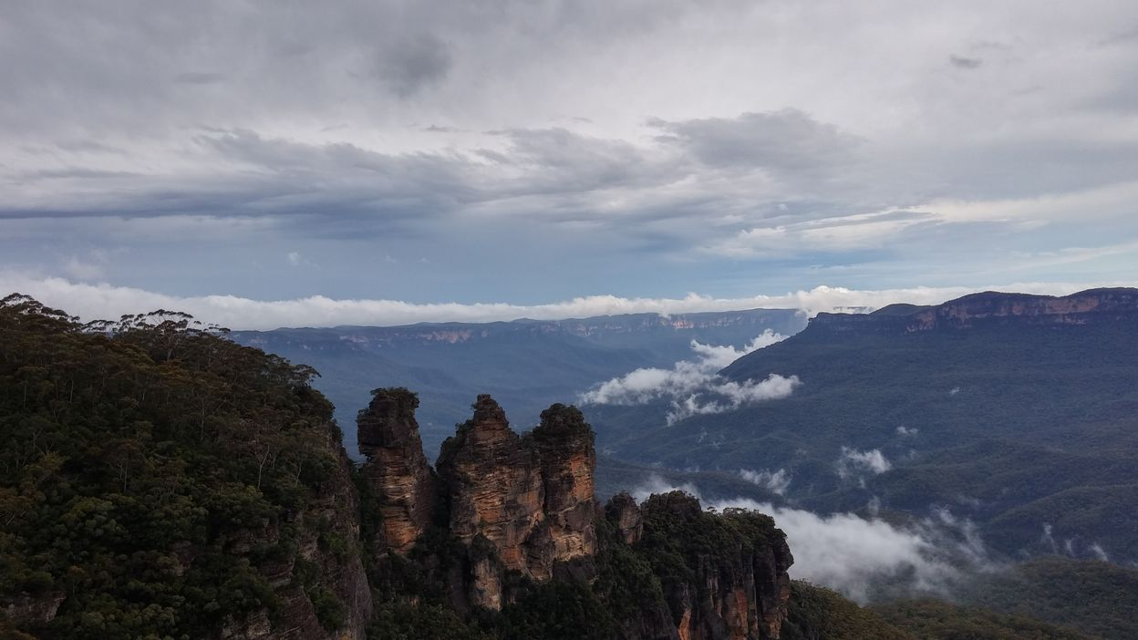 Blue mountains et ses roches Three Sisters