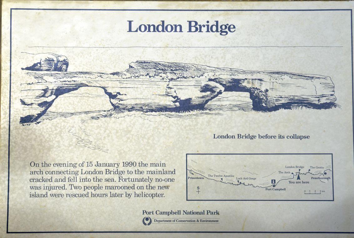 GOR - London bridge panneau