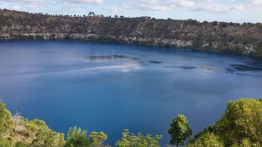 mont gambier lac bleu