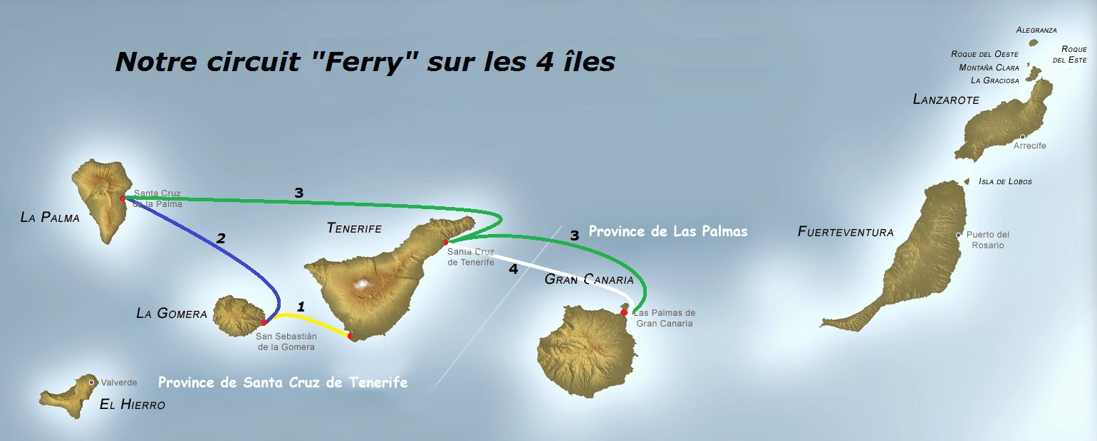 Iles Canaries circuit mdr